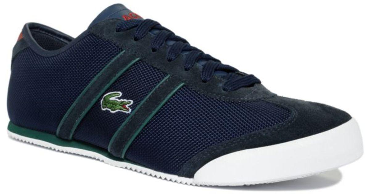 oficjalny sklep znana marka super tanie Lacoste Blue Tourelle Vy Sneakers for men