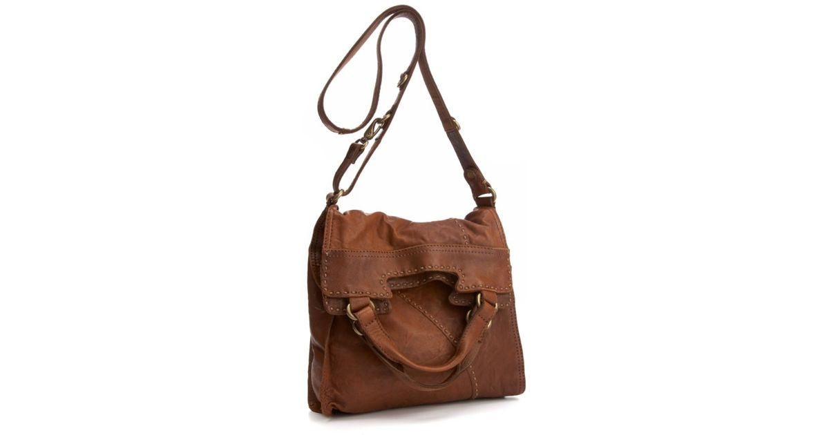 3baa9e9cc Lucky Brand Brown Abbey Road Leather Bag