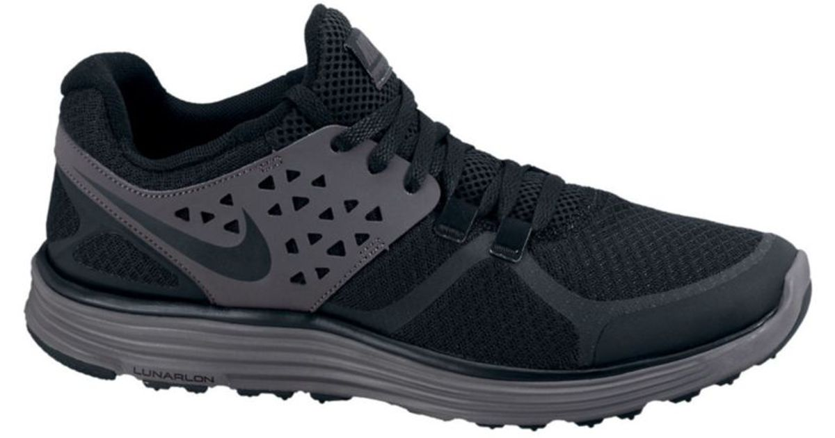 fccb21cf387 Lyst - Nike Lunarswift 3 Sneakers in Black