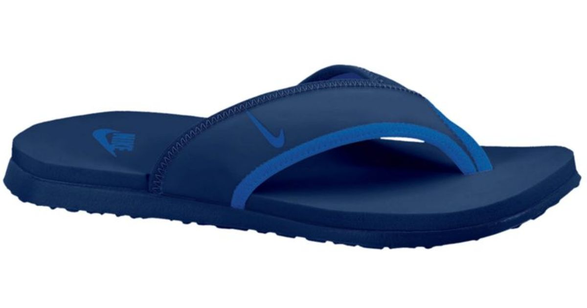 e4dab14924a Lyst - Nike Celso Thong Plus Sandals in Blue for Men