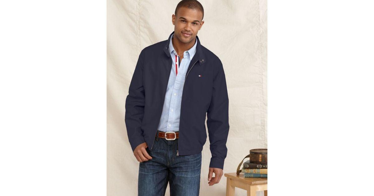 2f6445a9 Lyst Tommy Hilfiger Golf Jacket In Blue For Men