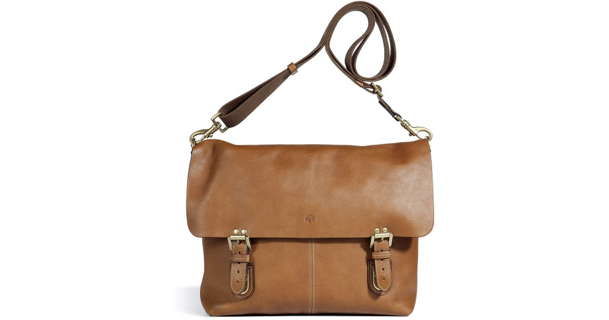 a6e183cae8 Lyst - Mulberry Barnaby Messenger Bag in Brown for Men