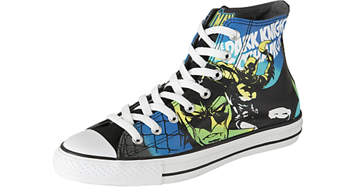 096a0e466d3f Converse Converse All Star Dc Comics Batman Hitop Trainers Blackmulti in  Black for Men - Lyst