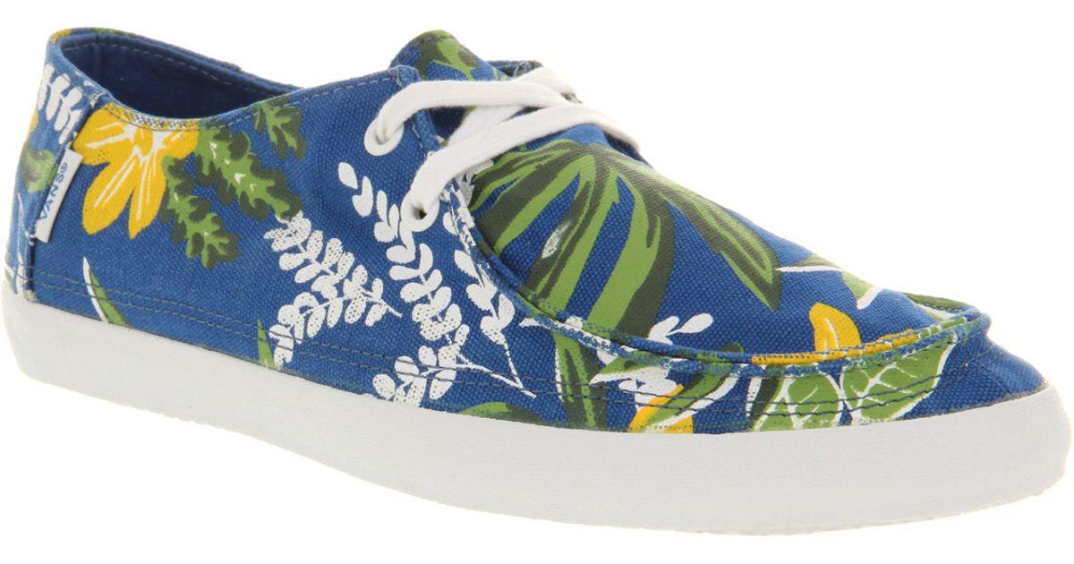 2c19bb20d9 Vans Rata Vulc Blue Aloha in Blue for Men - Lyst