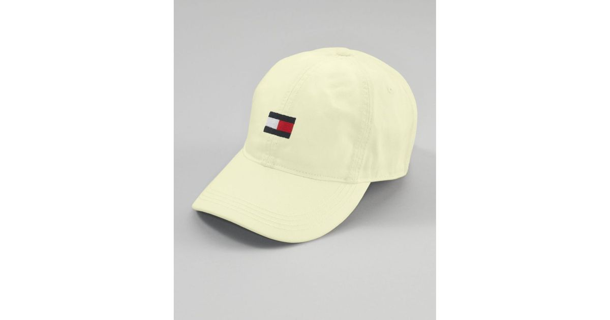 Lyst - Tommy Hilfiger Flag Baseball Hat in Natural for Men 0a7cf77f4f6