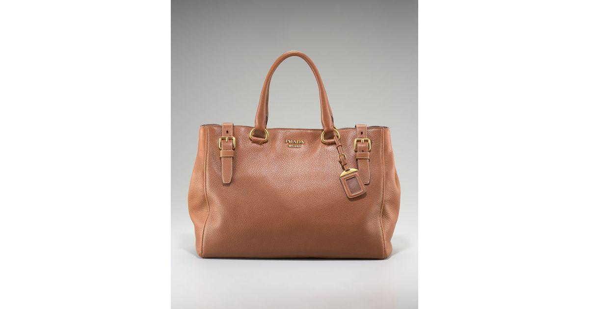 f7c2887ad3dd ... leather nero shoulder bags p00243878 adrytlm 0e172 e4c4c free shipping  prada cervo deerskin eastwest tote nocciolo in brown lyst 94c66 7a6f2 ...