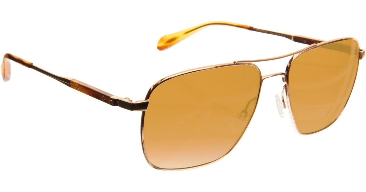 Men Linford For Metallic Lyst Oliver Peoples In JTclFK1