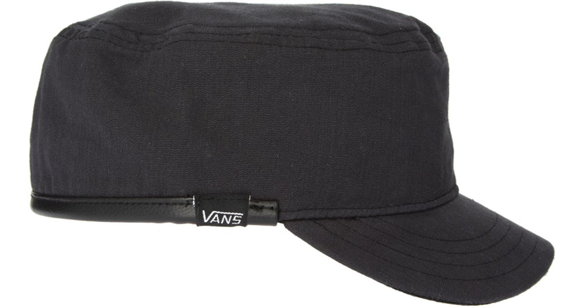 Lyst - Vans Army Cap in Black for Men 2ae81a8e849