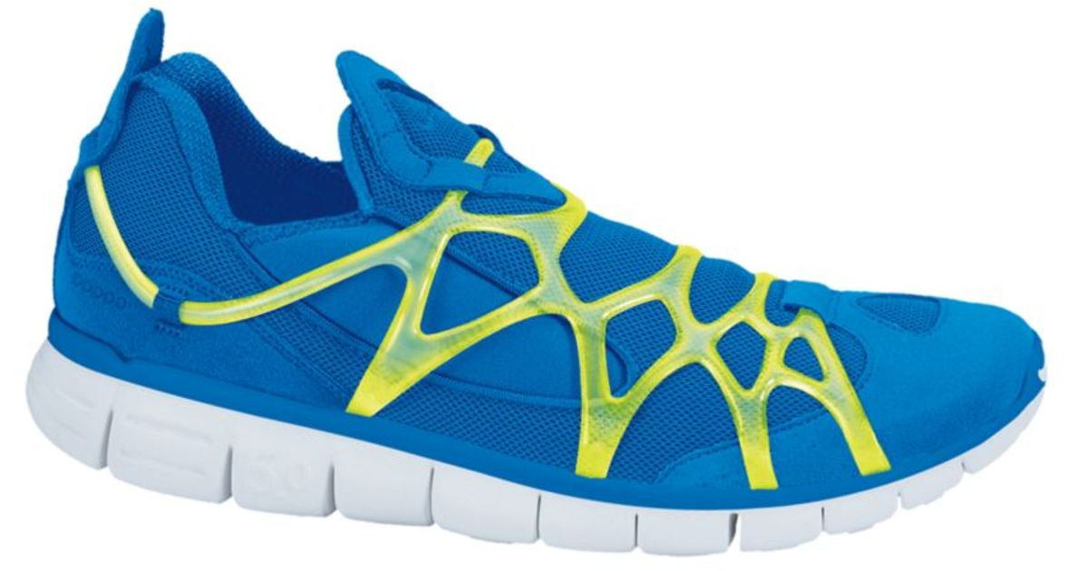 ... Lyst Nike Kukini Laceless Sneakers in Blue for Men