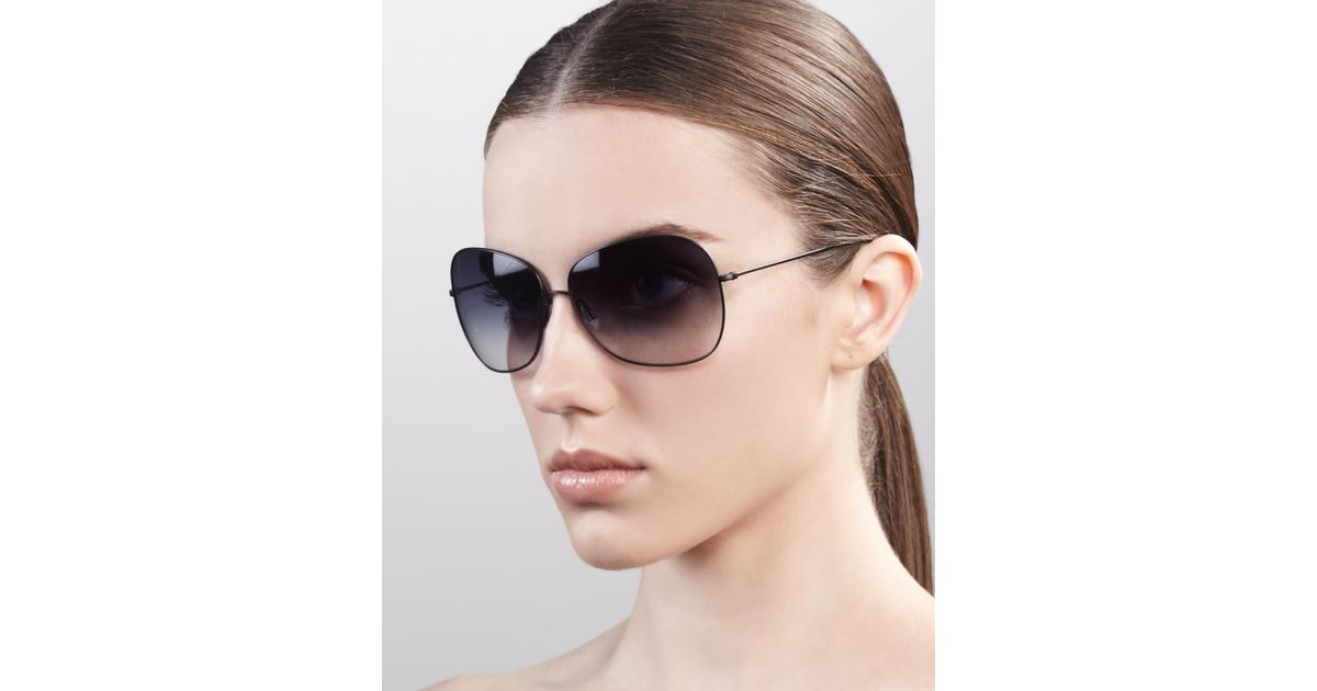 Peoples Elsie Oliver Polarized Sunglasses Black sdrCthQ