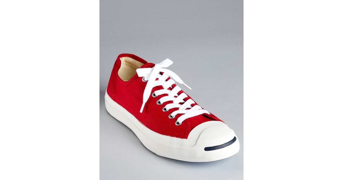 6f0e70af93e Lyst - Converse Jack Purcell Ltt Sneakers in Red for Men