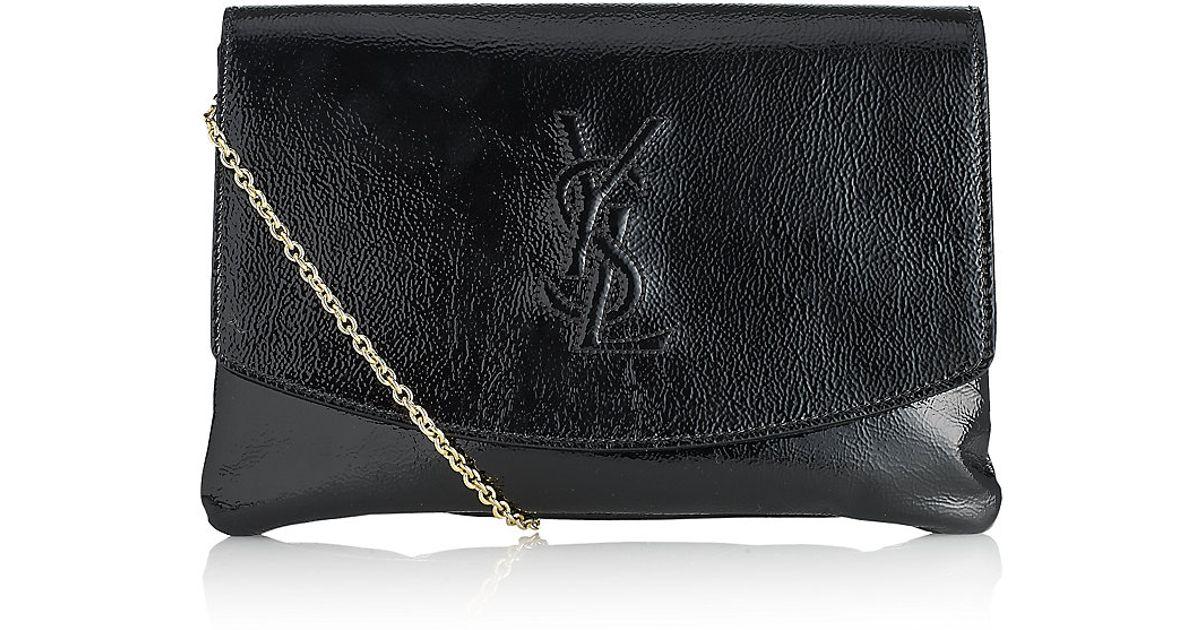 d10d71f55e8f Saint Laurent Belle Du Jour Clutch Bag in Black - Lyst