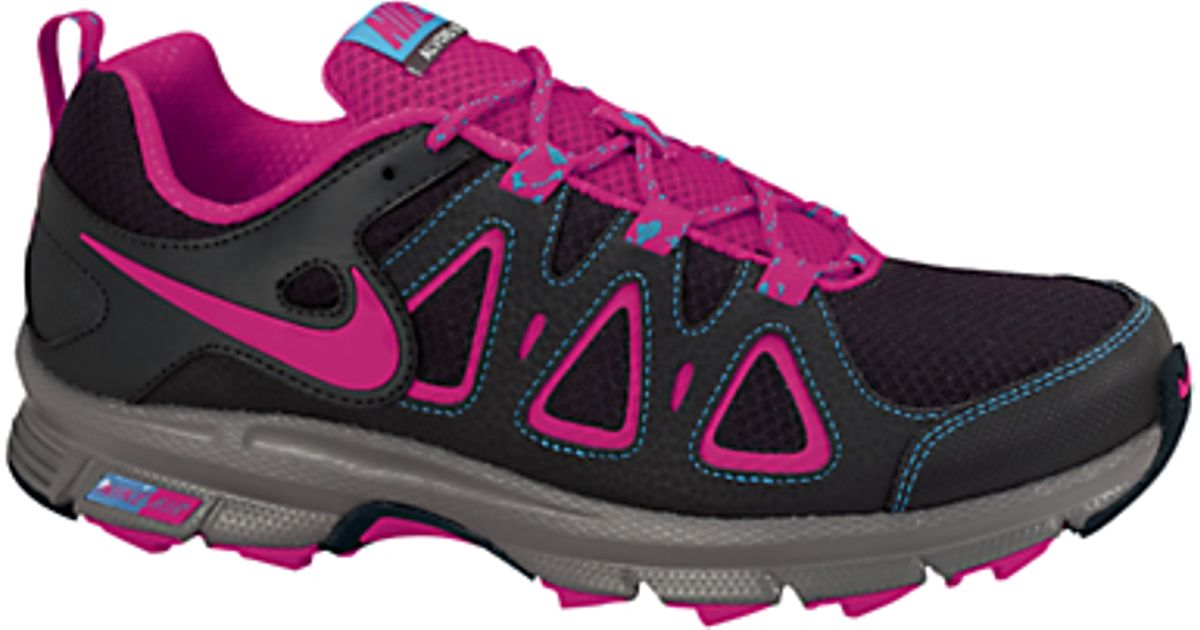 d2500423eca3f Nike Nike Air Alvord 10 Womens Trail Running Shoes Anthraciteberry in Black  - Lyst