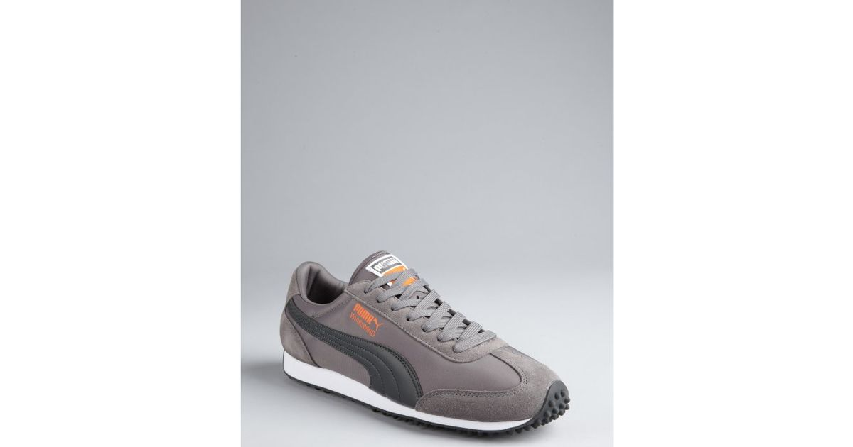 64a2bd844a041d Puma Steel Grey Nylon Whirlwind Classic Striped Sneakers in Gray for Men -  Lyst