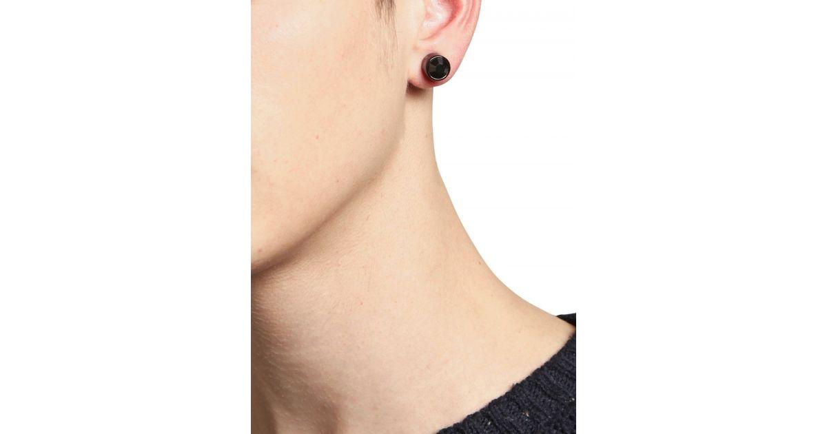 66039fd2f Givenchy Swarovski Earrings in Black for Men - Lyst