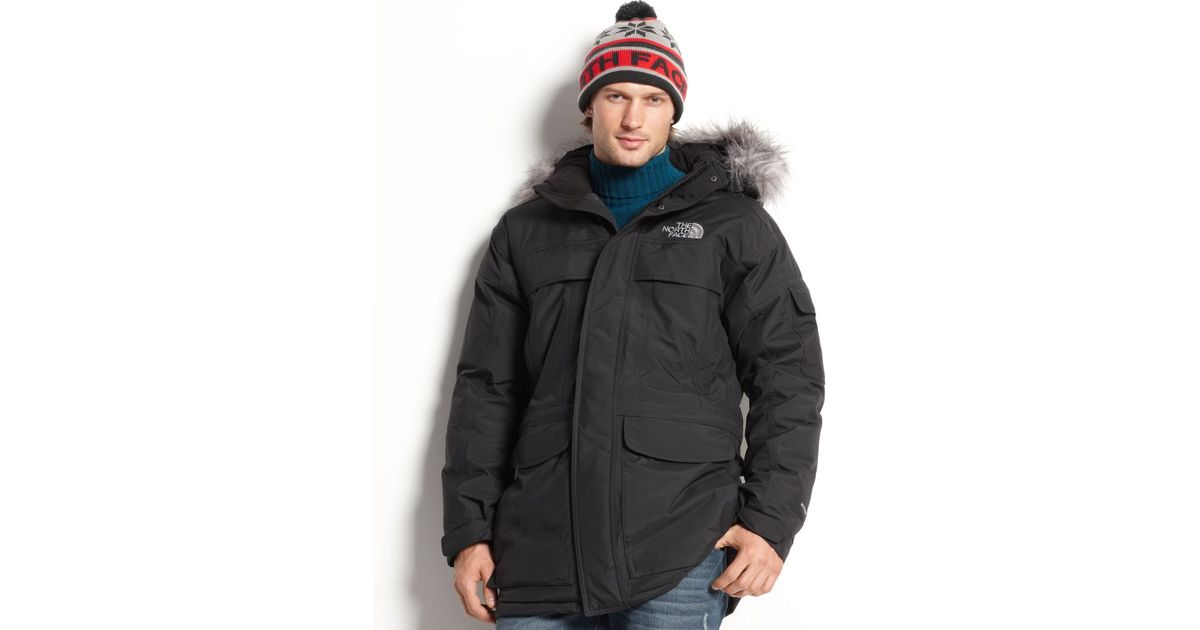 b21b568f8 The North Face Black Mcmurdo 550 Fill Down Waterproof Hyvent Parka for men