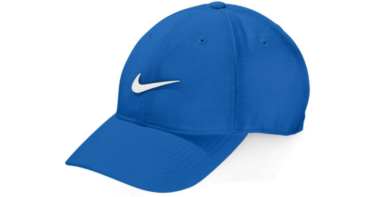 61c46b2a27a ... new style lyst nike legacy drifit wool adjustable hat in blue for men  9d0ff 05a29