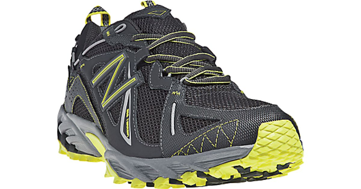 outlet boutique latest selection of 2019 well known New Balance 610 Gtx Mens Trail Running Shoes Blackyellow for men