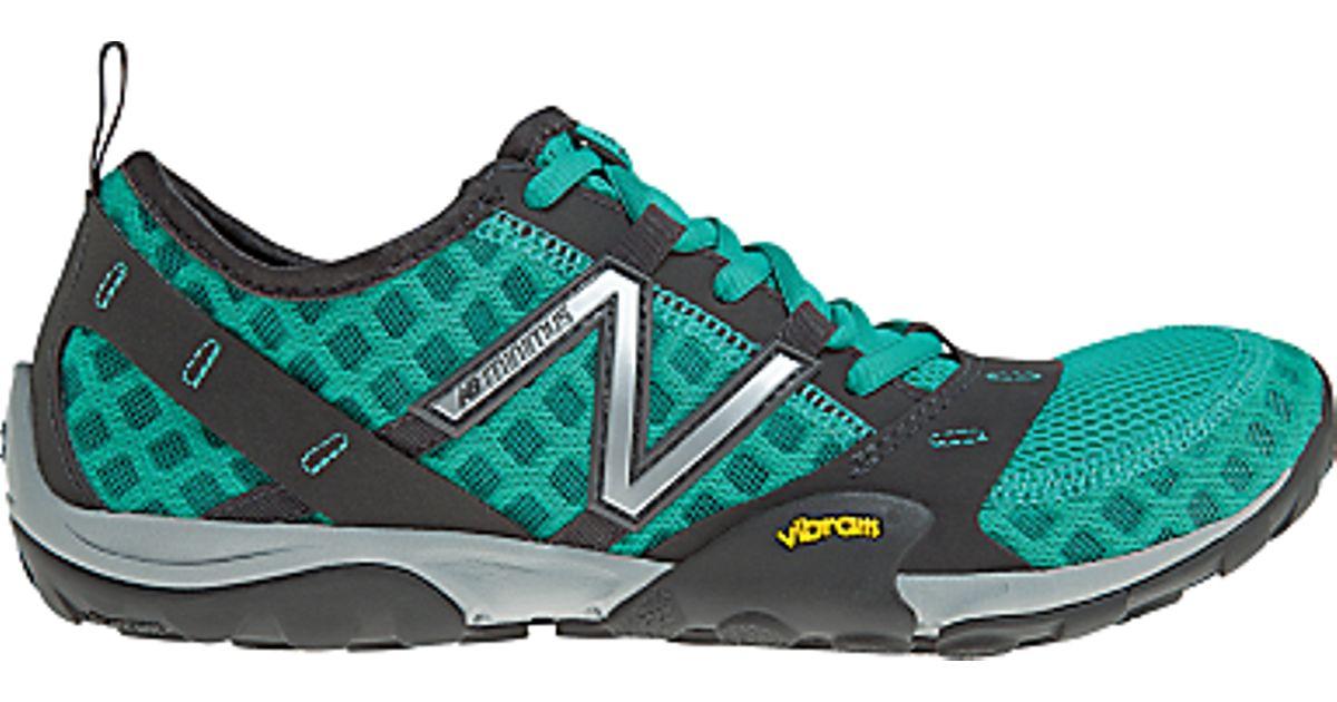 quality design 6d3e4 82eb8 New Balance Green New Balance Minimus 10 Trail Womens Barefoot Running Shoes