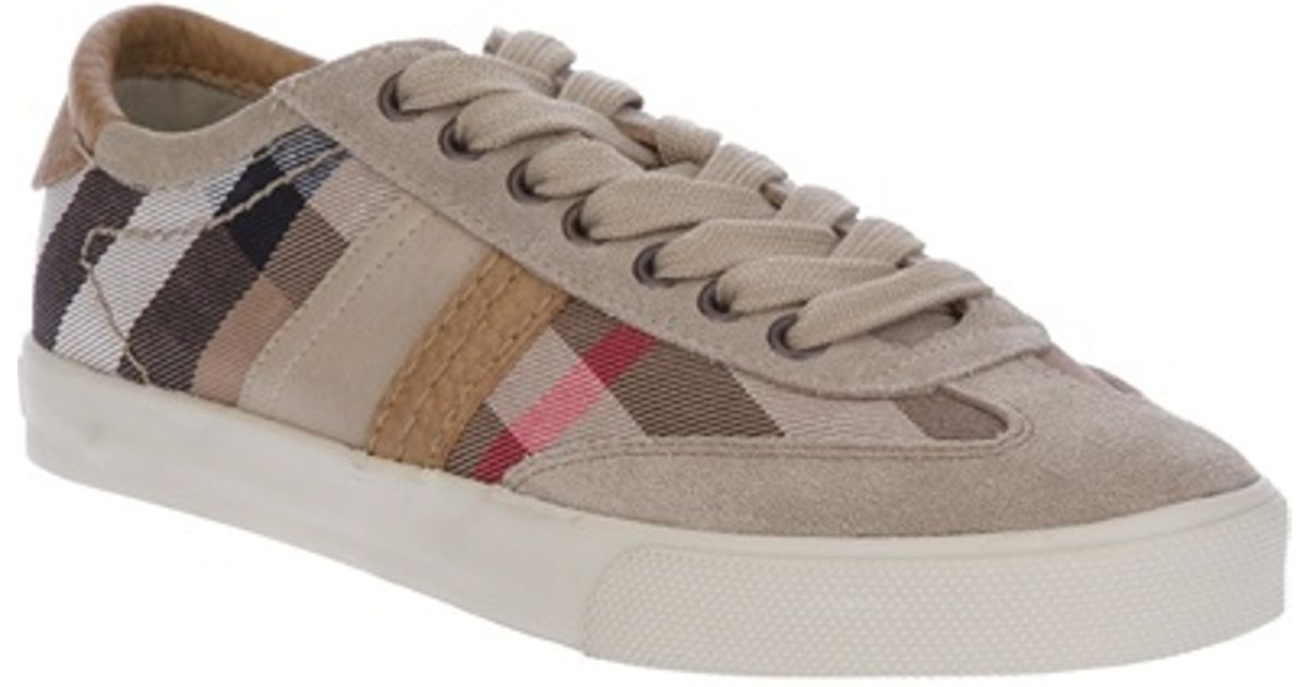Burberry All Checked Natural Star Sneaker htsrQdC