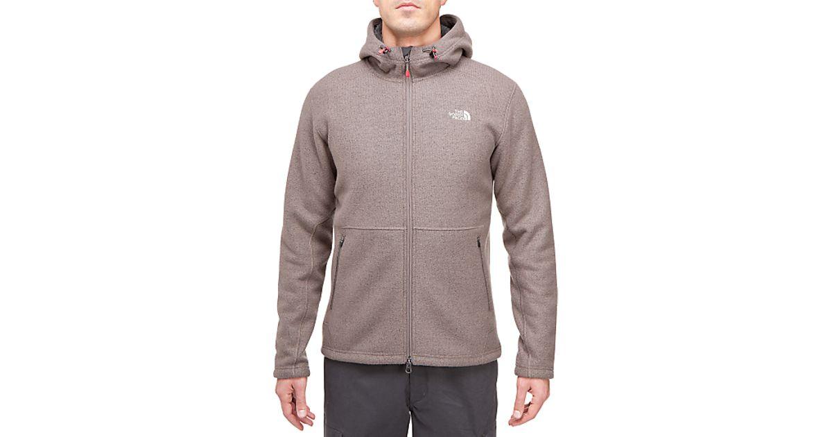d33730fc4 The North Face The North Face Zermatt Full Zip Hoodie Weimaraner Brown for  men