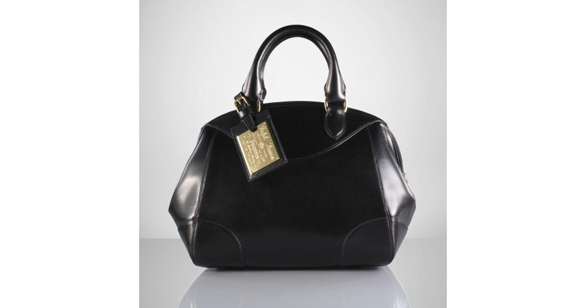 a08c5ae65f Lyst - Ralph Lauren Small Bedford Bag in Black