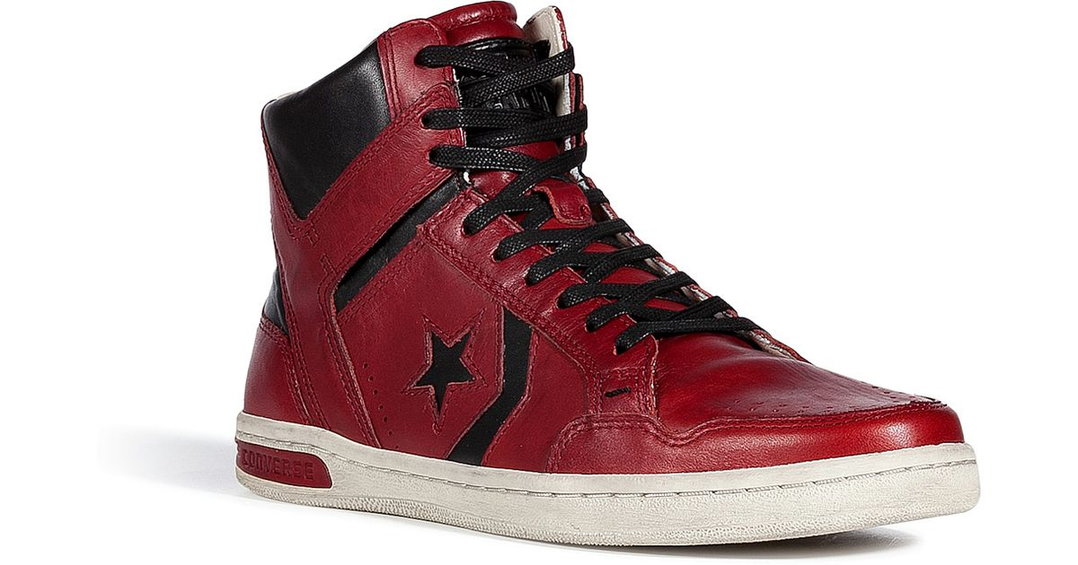 e8e80a9b7bc2 ... denmark lyst converse faded rose john varvatos weapon midsneakers in  red for men c6002 ac3c5