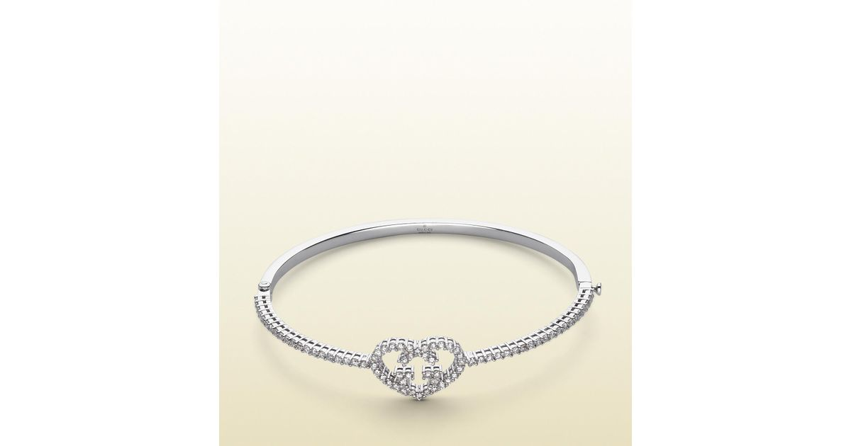 a8f5c3f1a Lyst - Gucci Love Britt Bracelet in Metallic