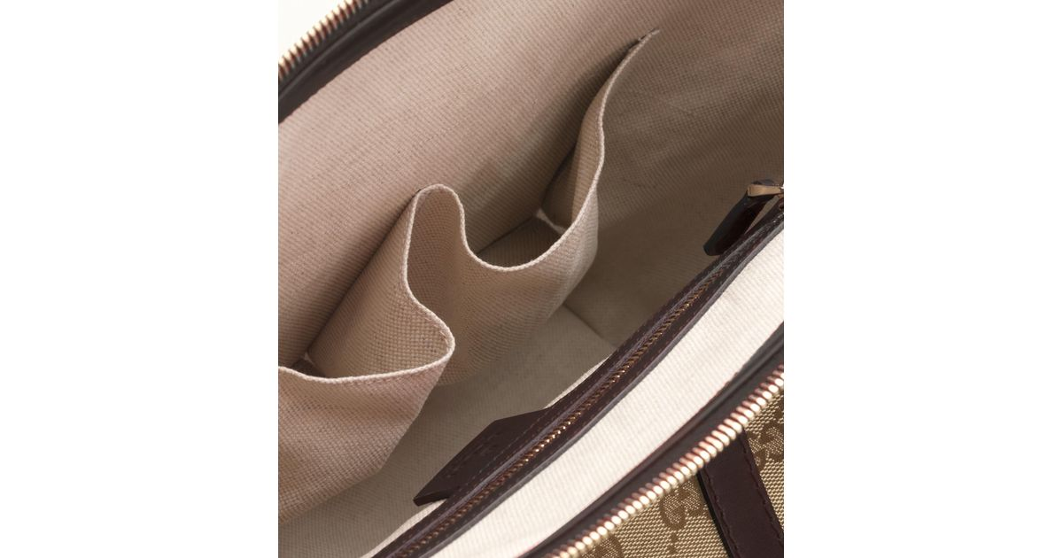 96523d0daf0 Lyst - Gucci Lovely Heartshaped Interlocking G Tote in Natural