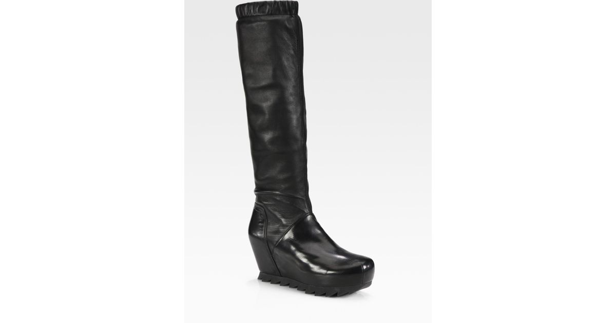 Strategia 80MM STRETCH FAUX LEATHER BOOTS y7wD3
