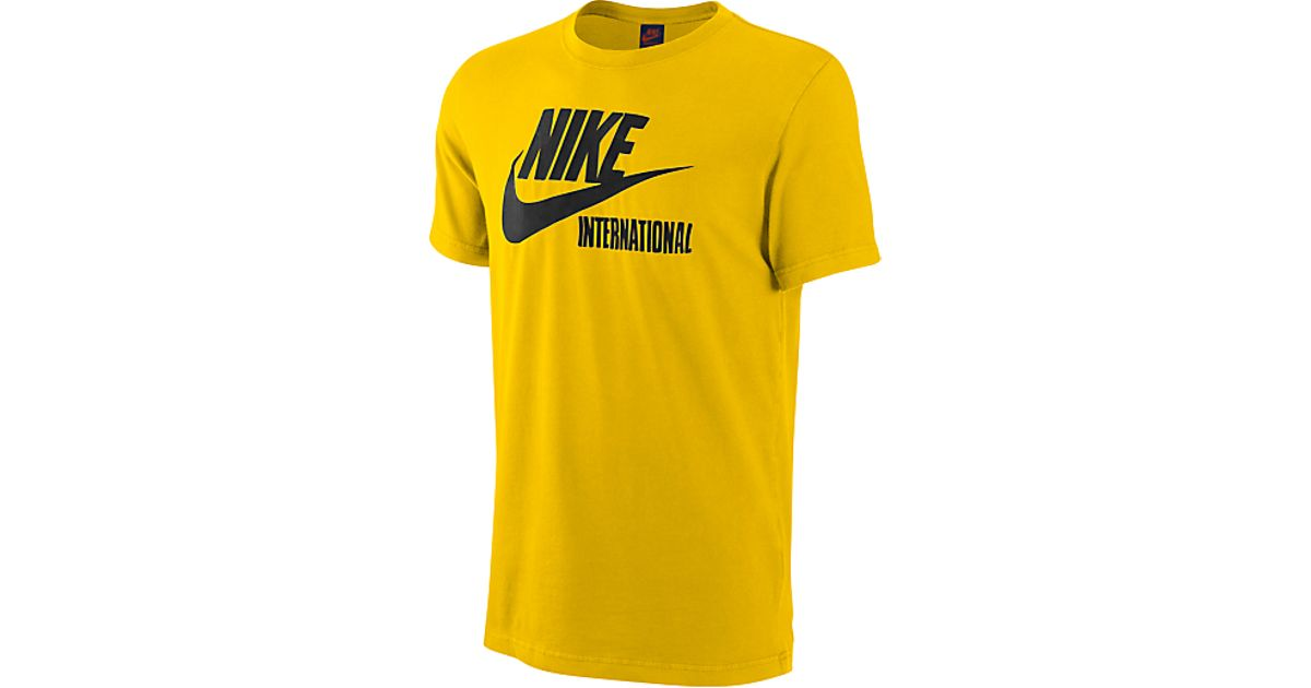 For Lyst Tshirt In Run Men Nike Earth Speed The Yellow TFxq61