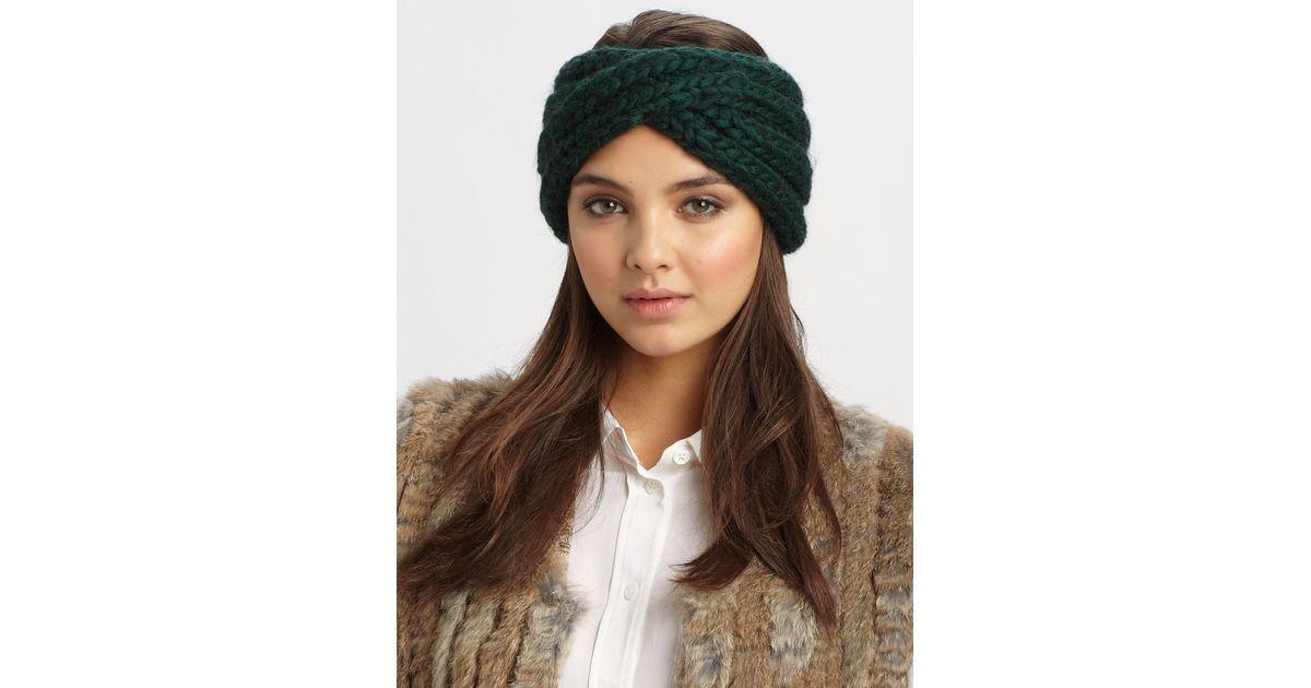 ceefdeb53 Eugenia Kim Green Lula Wool Headband