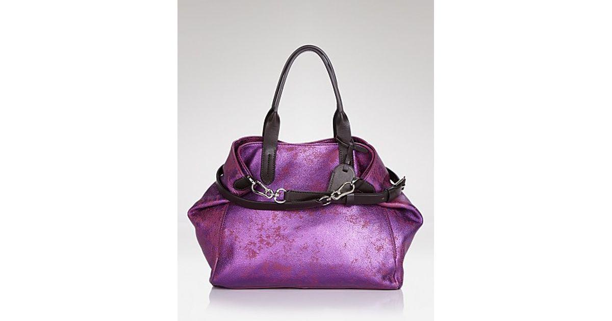 030737c14c6 Cole Haan Tote Crosby Small Shopper in Purple - Lyst