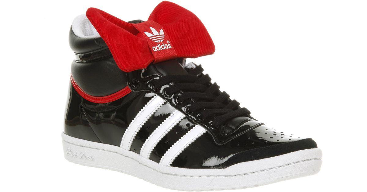 adidas Top Ten Hi Sleek Blkrd Bow Nite