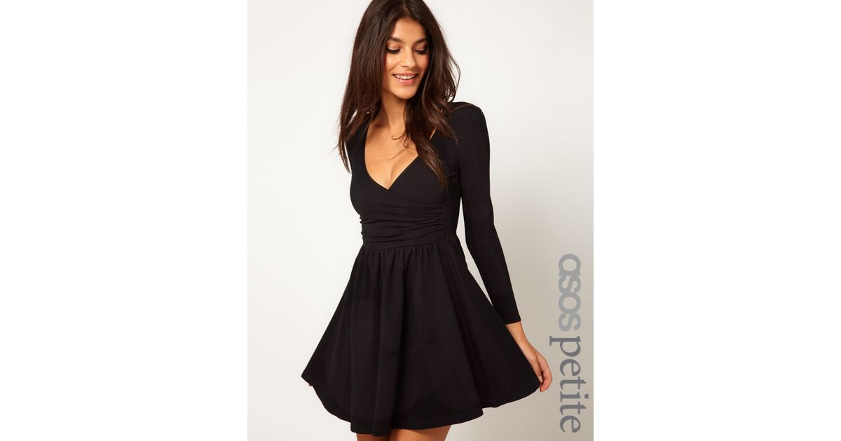 Long Skater Dress with Sleeves