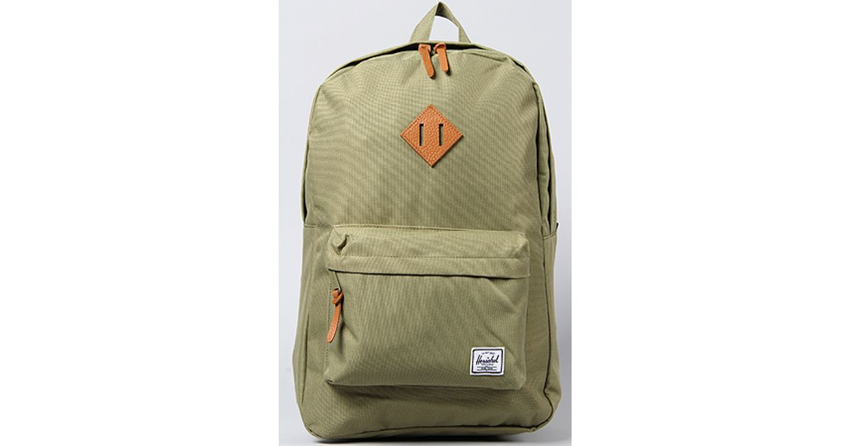 82175a8f7b Lyst - Herschel Supply Co. The Heritage Backpack in Olive Drab in Green for  Men