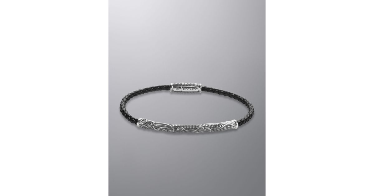 David Yurman Black Waves Bracelet For Men