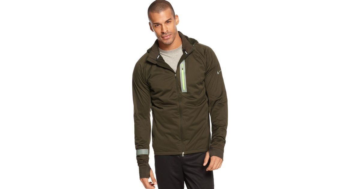 bbb083ab8e76 Lyst - Nike Element Shield Max Jacket in Natural for Men