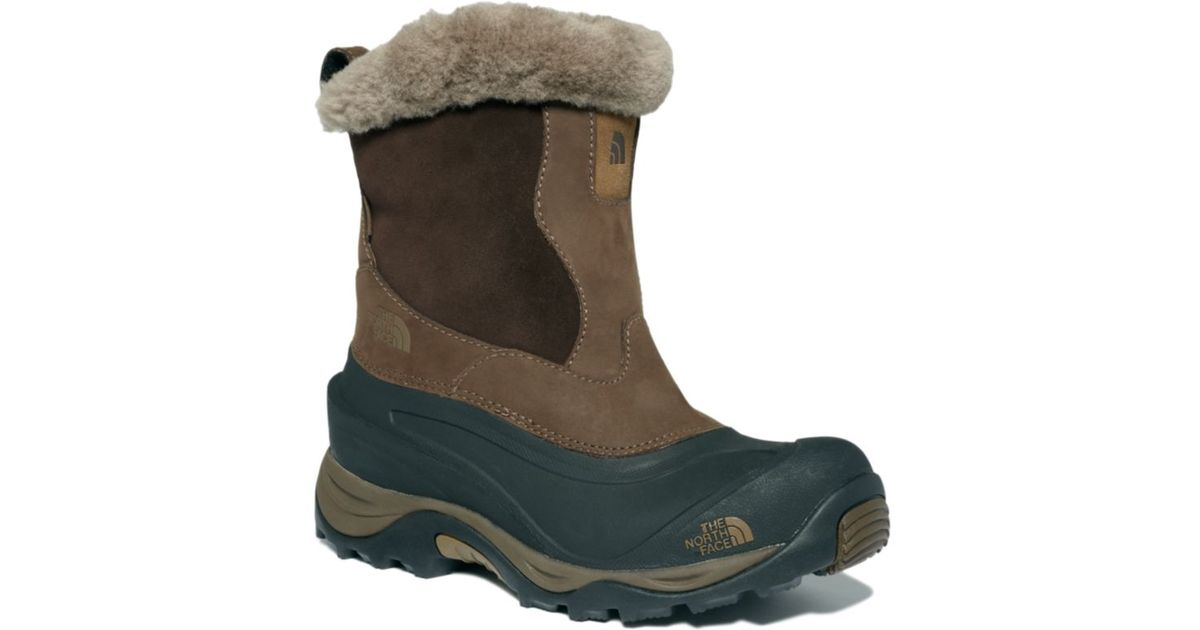 1aa2923b6 The North Face Brown Greenland Zip Ii Boots