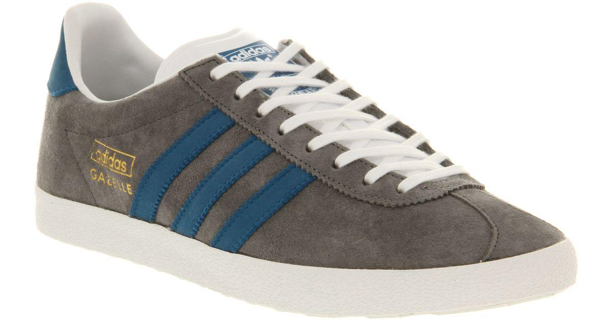 Adidas Gray Gazelle Og Grey Blue Smu for men