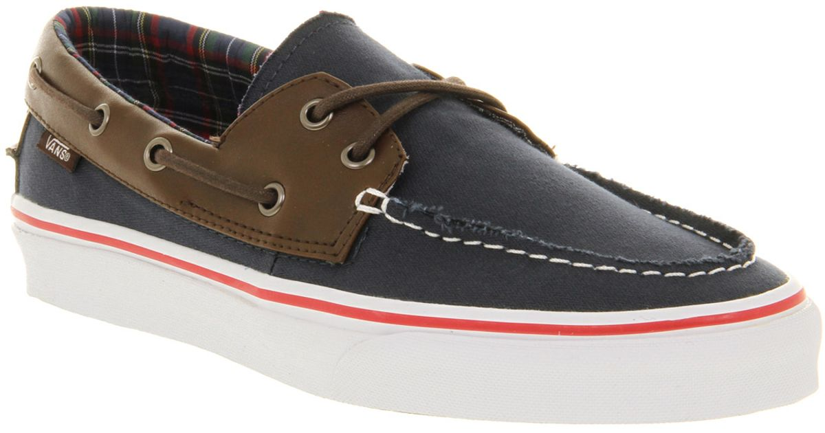 Vans Dress Barco Blue Del Zapato In Lyst Hl qdCAqS