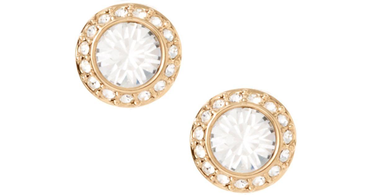 Swarovski Metallic Angelic Stud Earrings