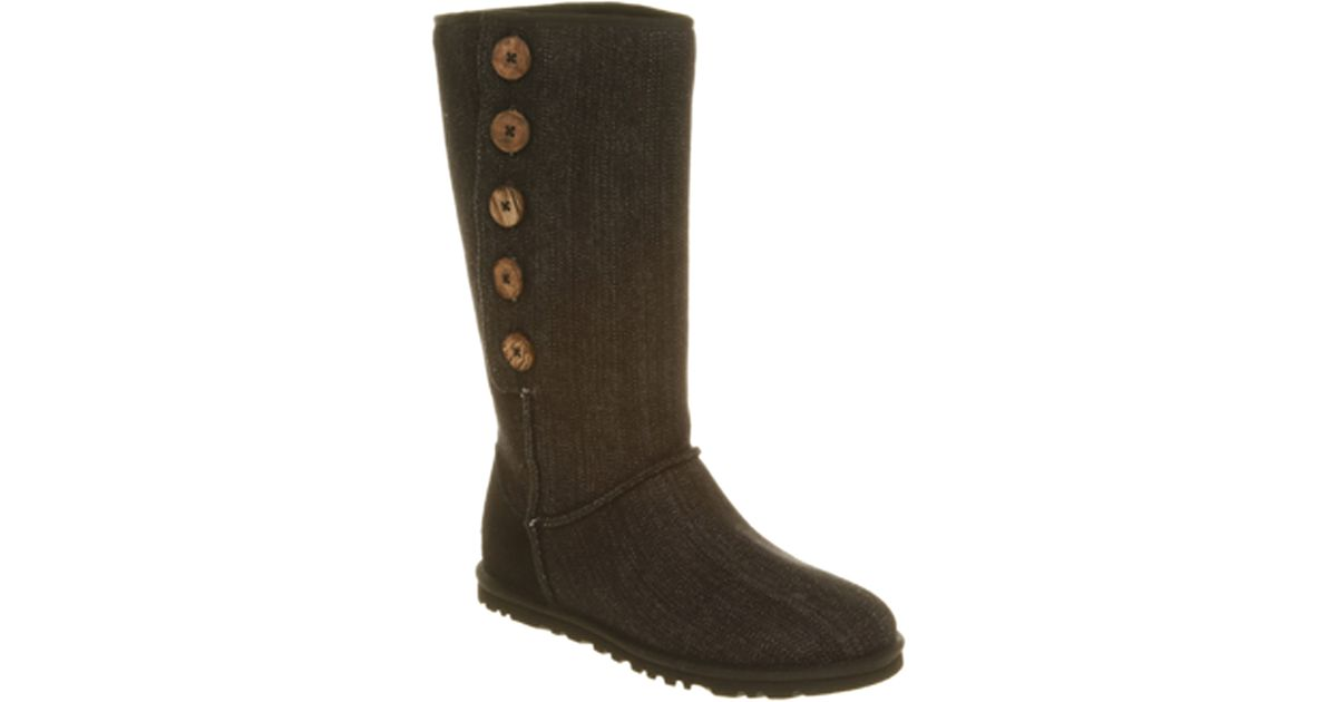 Ugg Lo Pro The Ugg Lo Pro Button Boot Features A Light And in Brown - Lyst