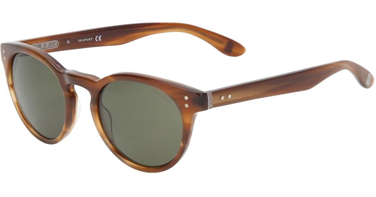 new product c946f 7779a Paul & Joe Brown Siberi Sunglasses