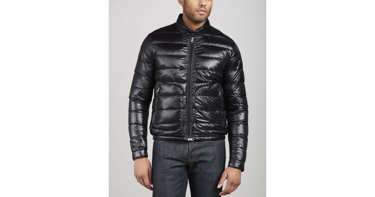 moncler acorus down jacket black