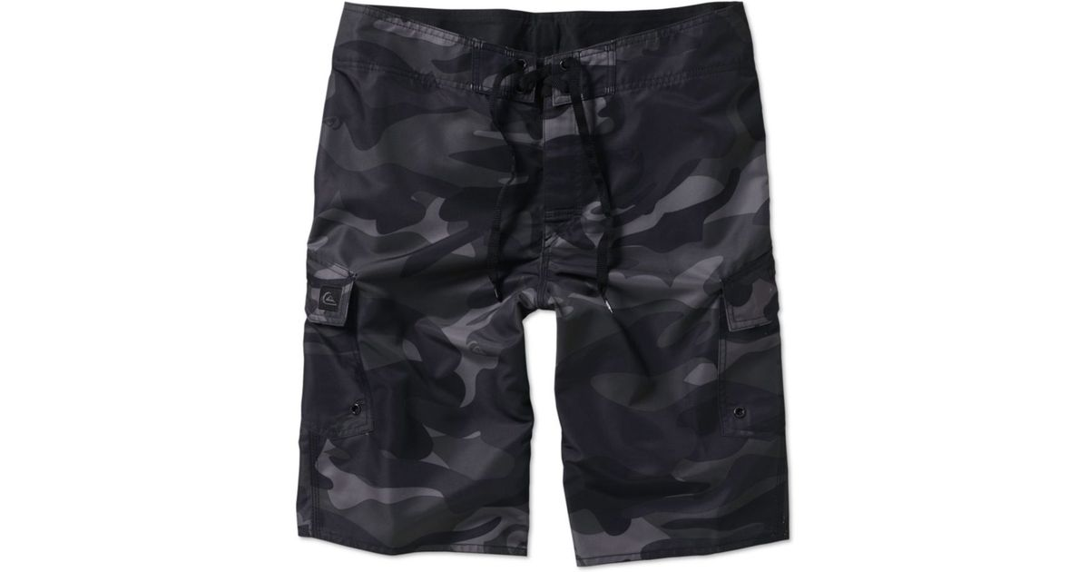 f7478311af Lyst - Quiksilver Manic Camo Board Shorts for Men