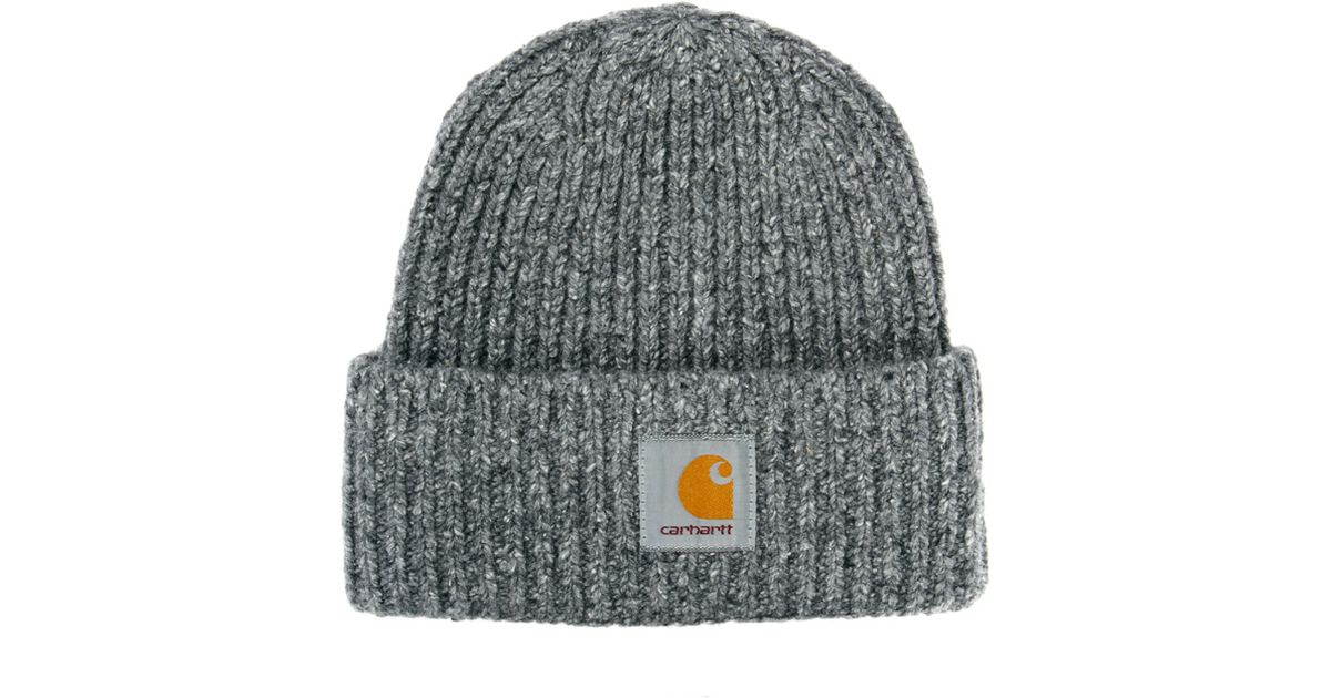 Lyst - Carhartt Anglistic Beanie in Gray for Men 38f3c0b5464