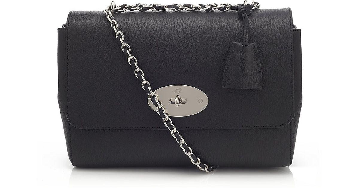 bb840e6eb8eb ... switzerland mulberry black medium lily bag in black lyst 416b0 b771f