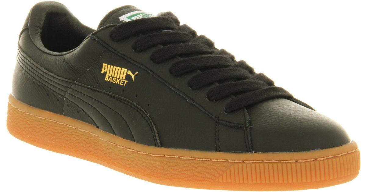 PUMA Basket Classic Black Gum for Men