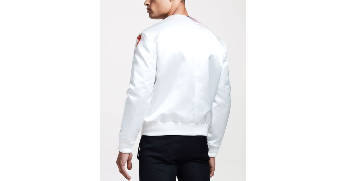 Givenchy Madonnaprint Bomber Jacket in